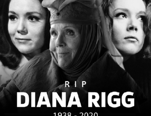 Dame Enid Diana Elizabeth Rigg, DBE (1938 to 2020)